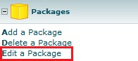 Web Hosting Packages – Change a Hosting Package