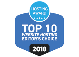 Excellent Web Hosting Award for JetServer
